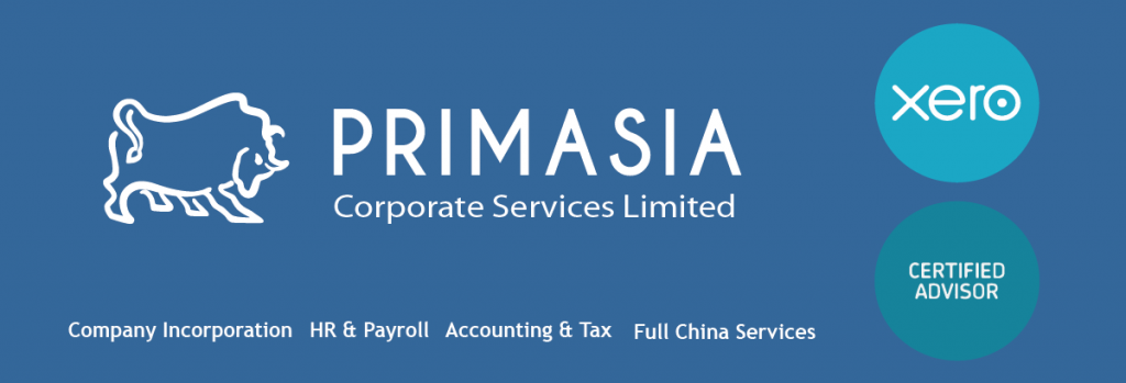 Primasia Corporate Services Limited Company Incorporation HR & Payroll Accounting & Tax Full China Services